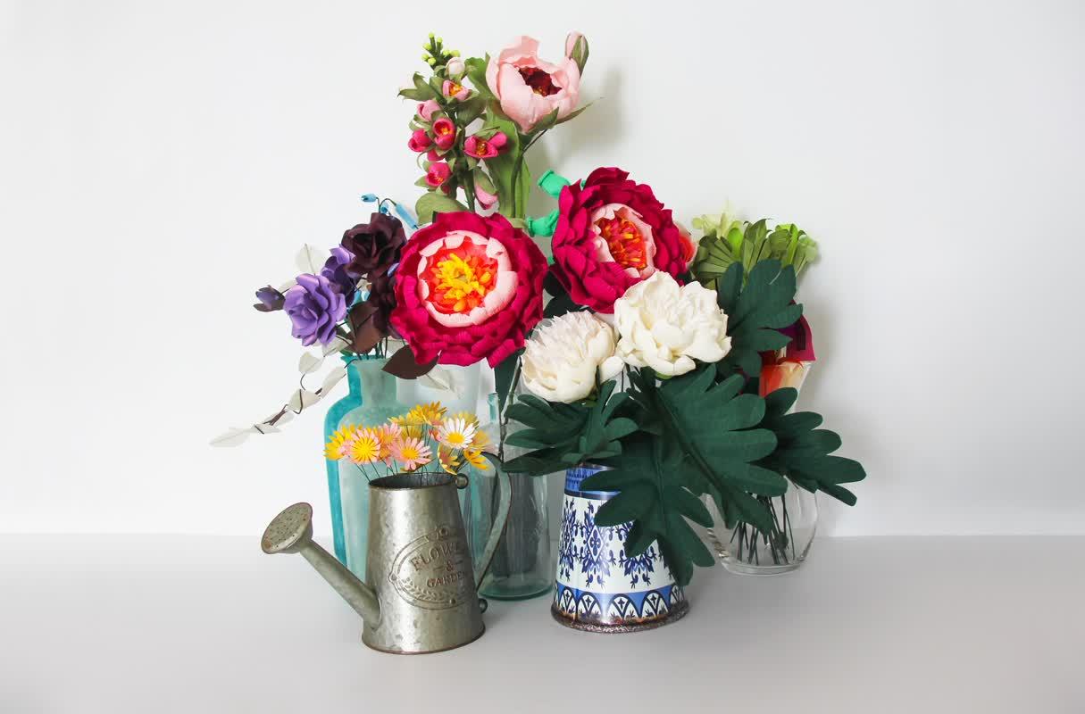 Bad Bad Maria Directory: Flores de Papel